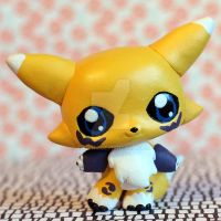 Renamon LPS custom by pia-chu