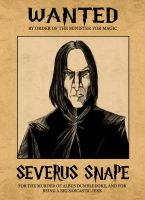 Wanted: Severus Snape by peaz