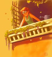 Balcony by Rechka