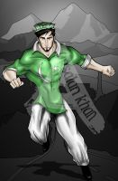 Pakistani Superhero by ArsalanKhanArtist