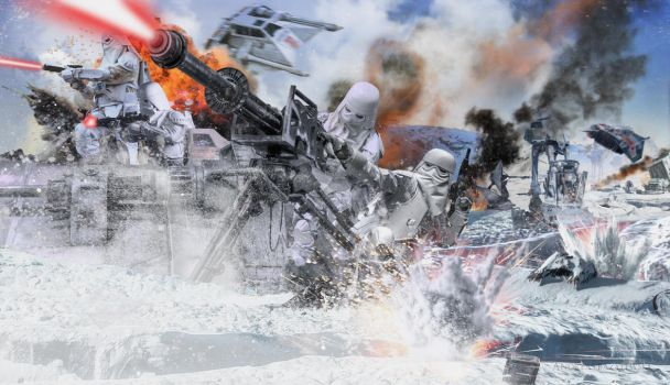 Star Wars: Battle of Hoth Frontline by TDSOD