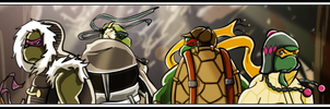 TMNT Banner by LaLunatique