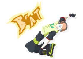 Beat, Jet Set Radio Future by PokeTrainer-Ashlex