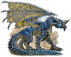 Blue Dragon by ProwlLover00