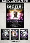 PARTY FLYER and POSTER Template by Hotpindesigns