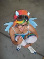 Awesome Rainbow Dash by xAleux