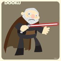 D is for Dooku by striffle