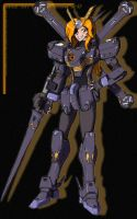 Mobile Suit Crossbone Girl X2 by twtmaster