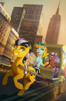 Ponycon NYC 2016 Poster by dennybutt