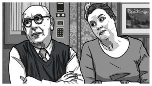 Norris and Mary Coronation Street by pickledjo