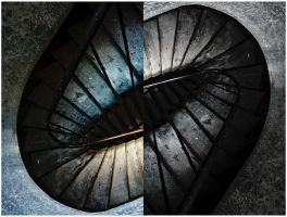 Neoclassic stairs by MissUmlaut