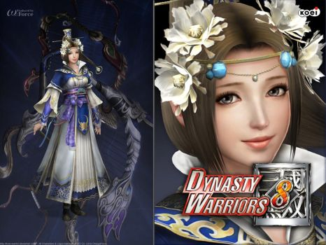 DW8 Wallpaper - Cai Wenji by Koei-Warrior