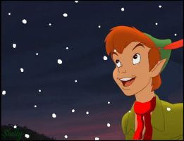 First snow in Neverland by Skippydippi