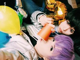 2PM - Go Crazy - Chansung and Junho cosplay by HJcosplay
