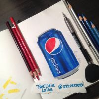 Pepsi Can by xxtretrexx