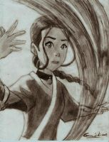 dvd cover-Katara by greeenDudE