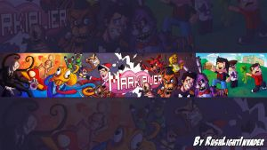 Markiplier Banner by RushLight Invader by RushLightInvader