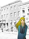 Winry in the City by ardunt