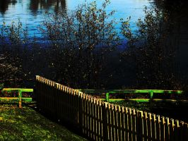 Nature_Scape_colorful_fence 04 by Aimelle-Stock