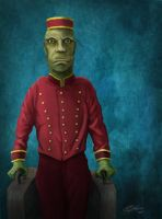 Gilman House Bellhop by Quest007