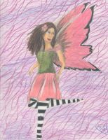 butterfly fairy by rainofphyre