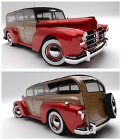 Madison Motors 300 Woody Wagon by Pixel-pencil