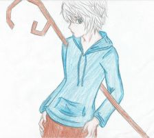 Jack Frost Anime Style by TheXBunny
