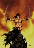 conan barbarian by xilrion
