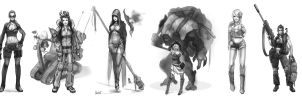 Game-concepts Aug-sept-2014 by Savvader