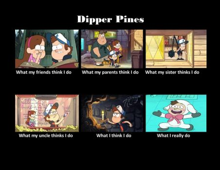 Dipper Pines by edger230