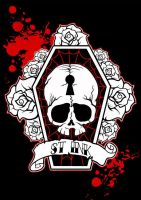 St Ink Skull by St-Ink