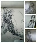 Daily sketch sketchdump. ( 16th Feb 2015) by Paper-pulp
