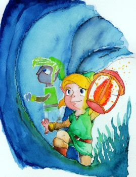 TLOZ A Link Between Worlds by JPbros