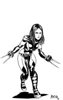 Laura Kinney AKA X-23 by ricomics