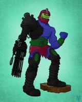 Masters of the Universe Trapjaw by Eyemelt