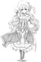 Sketch commission : Rielle by tonee89