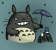 My Neighbor Totoro by Gladssinay123