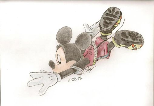 King Mickey, Dream Drop Distance by Bluespottedfire