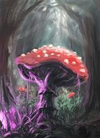 Mushroom by ThroughSpaceAndTime