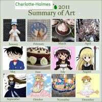 2011 Summary of Art by Charlotte-Holmes
