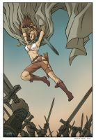 PinUp  for Rogues! volume 2 #1 by ChiaraDiFrancia