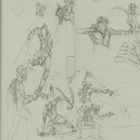 Warframe sketches by LordKomodo