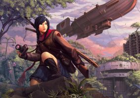 The Urban Explorer by Luches