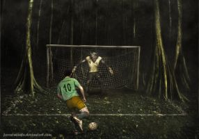 Forester vs Wolf penalty shootout by ForestManFx