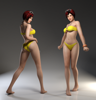 Mila 3DS Render 23 by x2gon