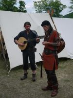 Medieval Bards by Dragoroth-stock