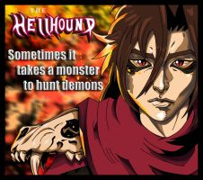 The Hellhound promo art by 00hellhound00