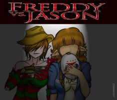 FREDDY VS JASON by amimie