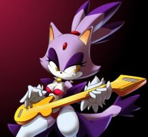 Blaze the cat +rockstar+ by nancher