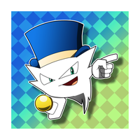 Topper Magius the Ghost by riodile